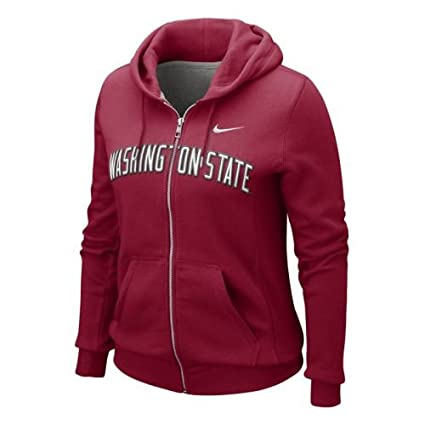 Washington State Cougars Womens Classic Full-zip Hooded Sweatshirt - Junior  Women - S ( d093c37b8e