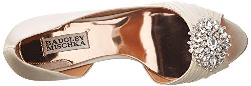 Women's Vanilla Satin Mischka Orsay Pump D Badgley Pearson A5qY8