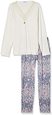 Conjunto de pijama em suedine, Pzama, Feminino