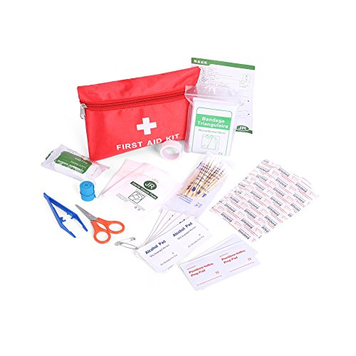 Huluwa First Aid Kit, Portable Medical Survival Bag, Outdoor Emergency Bag for Home Car School Sports Travel Outdoor Hiking - Up For Email Sign Free Offers