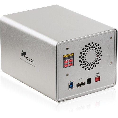 Xcellon DRD-101 Dual-Bay Raid System for 3.5