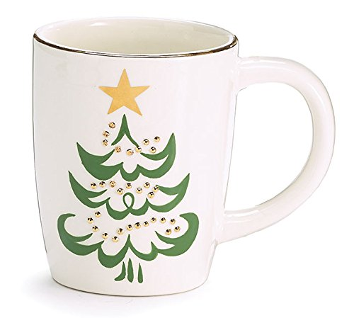- Burton and Burton Shining Star Christmas Tree Coffee Mug, 12 oz.