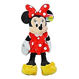 Disney 25.5″ Plush Minnie Mouse, red