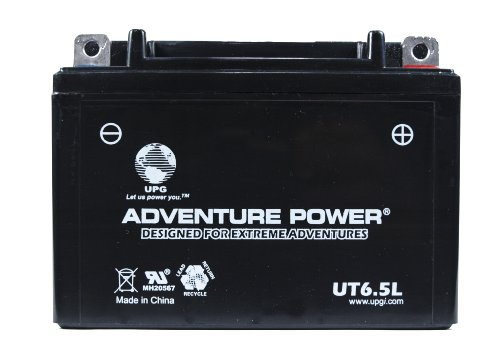UPG UT6.5L 12N6.5-3B Sealed AGM Power Sport Battery