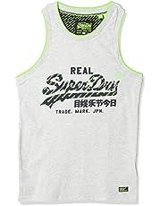 SuperDry Vintage Logo Neon Tip Vest