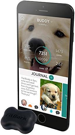 FitBark 2 Dog Activity Monitor, Black