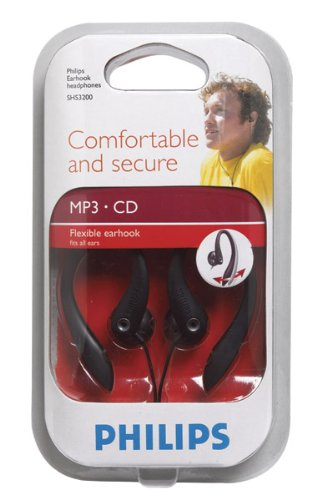(2 each: Philips Ear Clip Headphones (SHS3200))