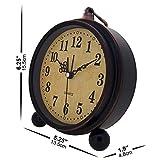 Konigswerk Vintage Alarm Clock, Analog Table Desk