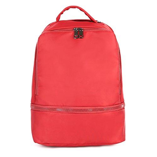 Red nylon Nylon in sport scuola borsa 54 viaggio Deep zaino bags escursioni a 29x18x42cm 09x16 donna 42x7 Dabixx red da Gray palestra moda tracolla 11 qxaYX7wS