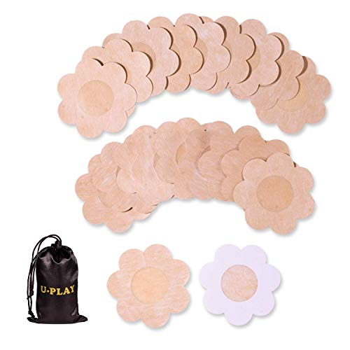 10 Pairs Nipples Skin,Nipplecovers Self-adhesive Disposable Pasties For Women Ultra Thin Smooth Suitable For All Cups Nipple Covers