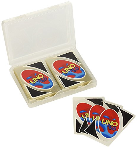 New UNO 108 PCS H2O Waterproof PVC Transparent Cystal Clear Family Playing (New Playing Cards)