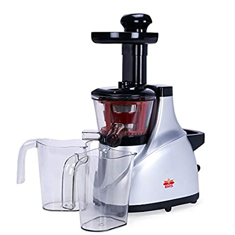BMS LIFESTYLE 2020 Newest Slow Masticating Juicer, Easy to Clean & High Juice Yield, 2-Speed Mode Cold Press Slow Juicer…