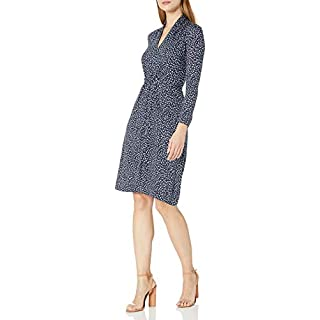 French Connection Women's Jersey Wrap Dresses, Nocturnal, 4