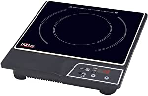 Max Burton 6000 1800-Watt Portable Induction Cooktop, Black