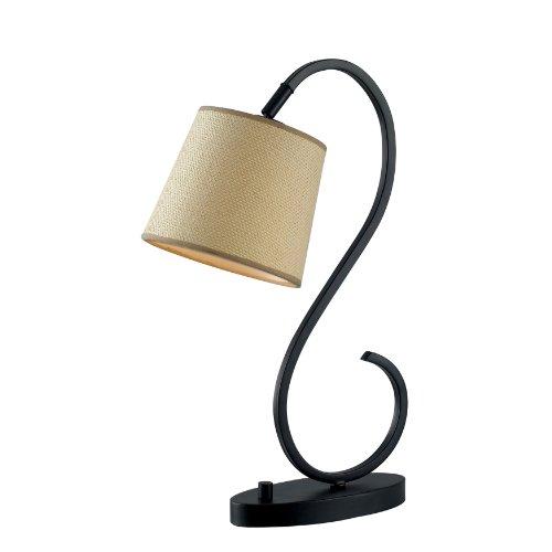 Kenroy Home 32009ORB Wilson Desk Lamp, Oil Rubbed Bronze