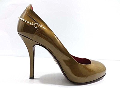 cesare-paciotti-6-us-36-eu-pumps-shoes-bronze-patent-leather-wh900