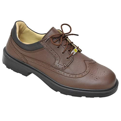 Elten 72317-43 Officer XW Brown Chaussures de sécurité ESD S2 Taille 43