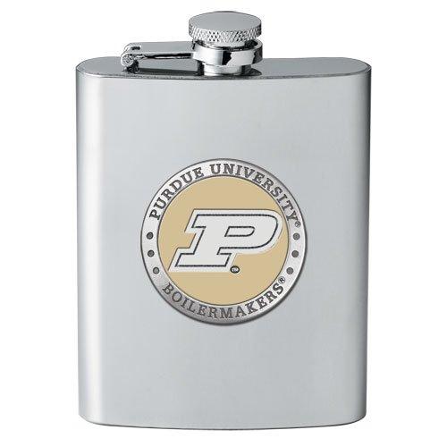 (1pc, Pewter Purdue University Flask)