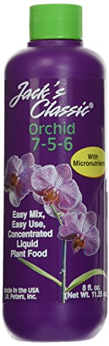 J R Peters Inc 50708 Jacks Classic Liquid Orchid Food, 8-Ounce