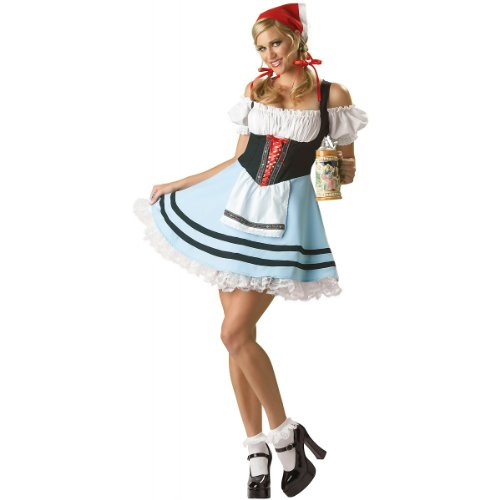 Book Character Costume Ideas For Girls (Oktoberfest Girl Adult Costume - Large)