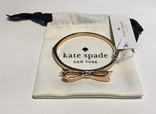 - Kate Spade New York Love Notes Take A Bow Bangle Bracelet (O0RU1020 Rose Gold)