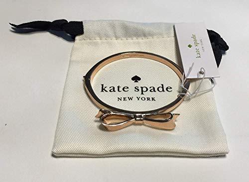 Kate Spade New York Love Notes Take A Bow Bangle Bracelet (O0RU1020 Rose Gold)