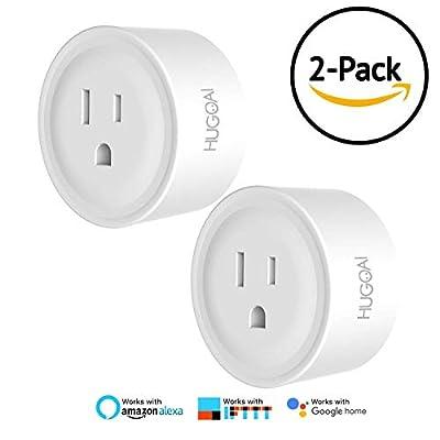 HUGOAI Smart Plug 2 Pack Parent