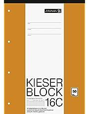 Brunnen 1042926 KIESER-Block çizgili 23 (A4, 50 yaprak, kalaylı, 80 g/m2, delikli)