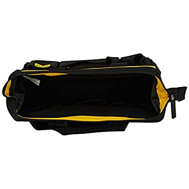 STANLEY STST512114 12'' Multipurpose Tools Storage Water Proof Open Mouth Bag (Yellow-Black) 11