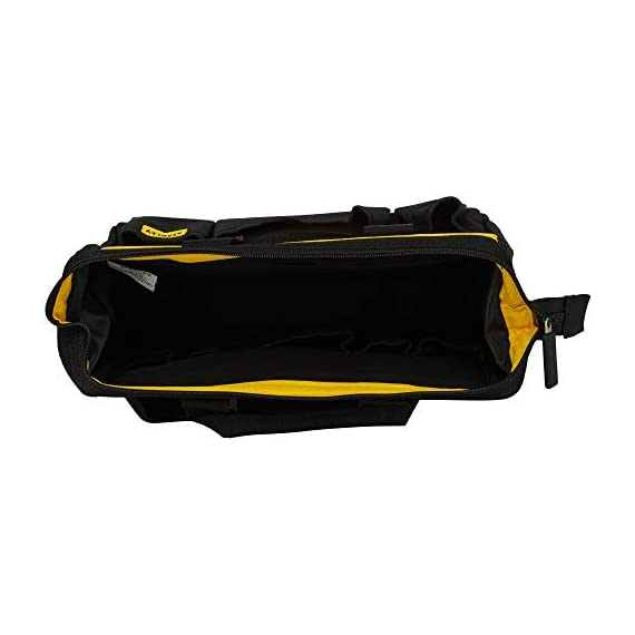 STANLEY STST512114 12'' Multipurpose Tools Storage Water Proof Open Mouth Bag (Yellow-Black) 4