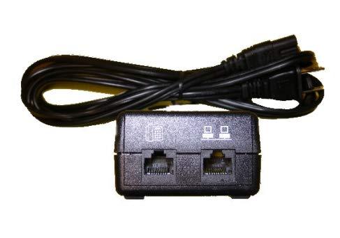 Mitel Networks 51015131 48volt DC Ethernet Power Adapter 100-240V 802.3AF by Mitel