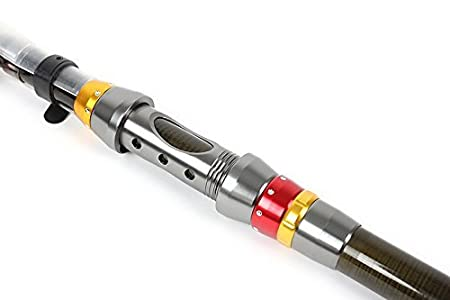 BNTTEAM Portable Angelrute 99/% Carbon Teleskop Super Hard Ultraleicht Angelrute f/ür Reise Surf Salzwasser S/ü/ßwasser Bass Boat Fishing