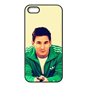 NADIA SOKY Football Star Lionel Messi for Apple iPhone 5/5S Black Case Hardcore-4¡ê¡§2 Pack¡ê?