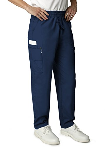 Adar Universal Natural-Rise Multipocket Cargo Tapered Leg Pants - 506 - Navy - L