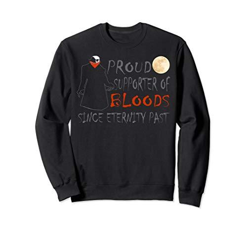Scary Halloween Vampire Vlad Dracula Trick Or Treat Pun Sweatshirt]()