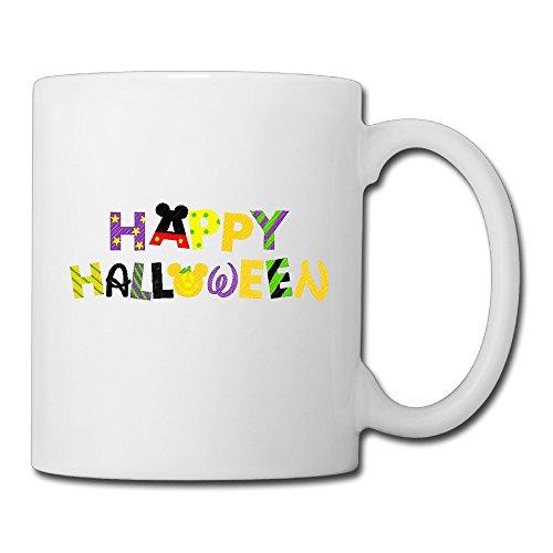 Librarian Costume Props (DEMOO Halloween Logo Coffee Mugs / Tea Cups)