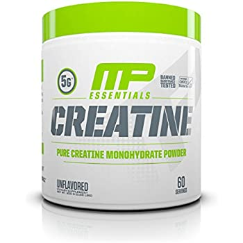 MusclePharm Creatine, Ultra Pure 100% Creatine Monohydrate Powder, Muscle Building, 300g, 60 servings