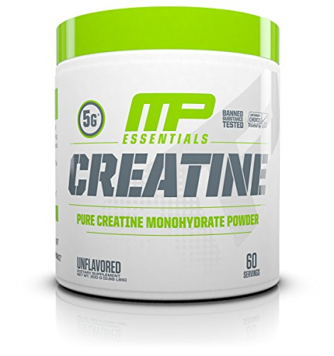 MusclePharm Creatine, Ultra Pure 100% Creatine Monohydrate Powder, Muscle Building and Recovery