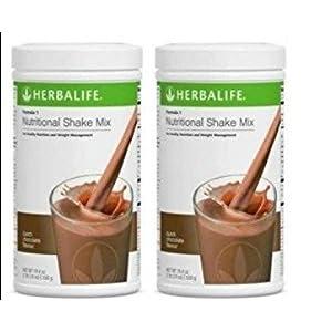 Herbalife 2 Batidos Formula 1 Fresa (2 x 550 g) + coctelera ...