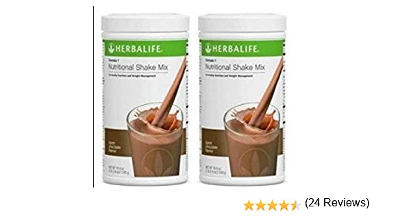 Herbalife Formula 1 Chocolate Cremoso - 2 x 550 g: Amazon.es ...