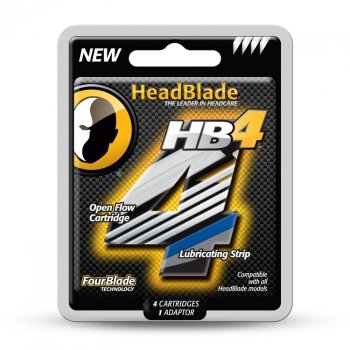 HeadBlade HB4 Replacement Cartridges Inc.