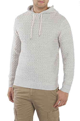 Unionbay Men's Drawcord Henley Sweater Hoodie, Airfoil, X-Large ()