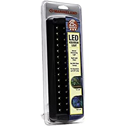 MarineLand LED Aquarium Light, Natural Shimmering Light