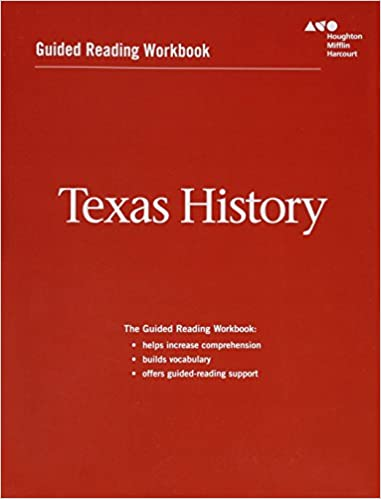 Amazon houghton mifflin harcourt texas history texas guided houghton mifflin harcourt texas history texas guided reading workbook 1st edition fandeluxe Gallery
