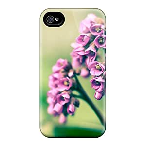 New Style M.box Hard Case Cover For Iphone 4/4s- Mother S Day Beautiful Flower Purple Flowers