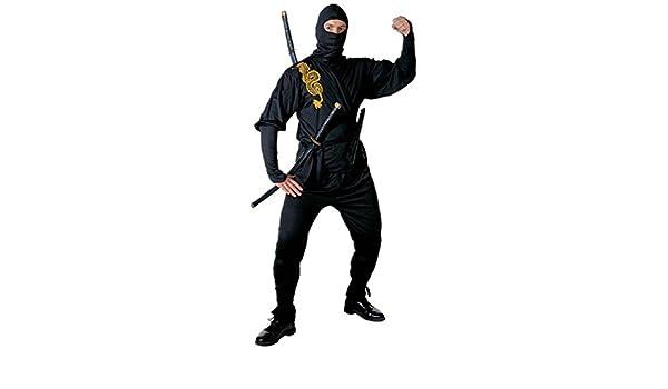 WIDMANN Unbekannt Disfraz de ninja chino para hombre, talla M (39192)
