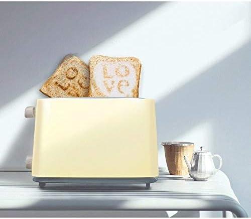 JYDQB Grille-Pain Grille-Pain Passer Accueil Petit-déjeuner Toast Chauffage Machine 6 Fichiers