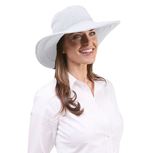 san-diego-hat-womens-cotton-crochet-4-inch-brim-floppy-hat-white-one-size