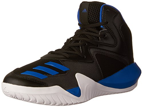 adidas Crazy Team 2017 Shoe Men's Basketball 9 Core Black-Blue-Solid Grey