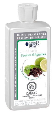 (Lampe Berger 500 ml Citrus Leaves Parfum De Maison Home Fragrance)